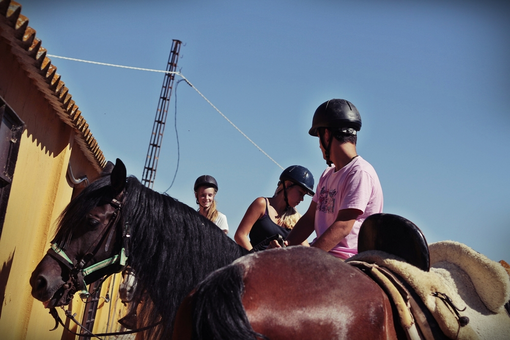 Camp adventures in Spain