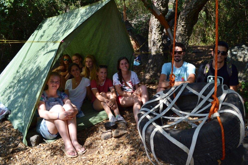 Programa de verano para aventureros jóvenes