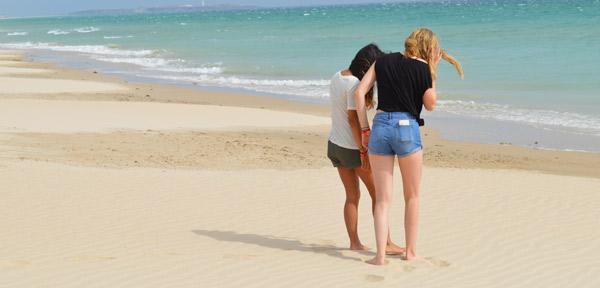 Beach-summer-camp-in-Tarifa-Spain, Los Lances Beach Tarifa