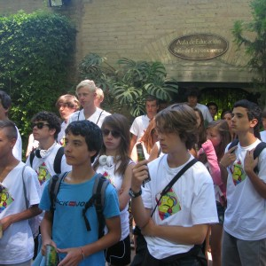 summer camps for teens tarifa, lenguaventura camp visit the zoo