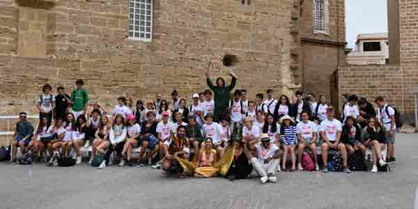 Summer-camp-excursion, fieldtrip to Cádiz