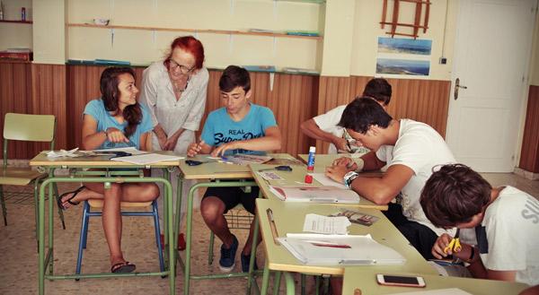 Escuela-de-verano-ingles-espanol, Tarifa, España