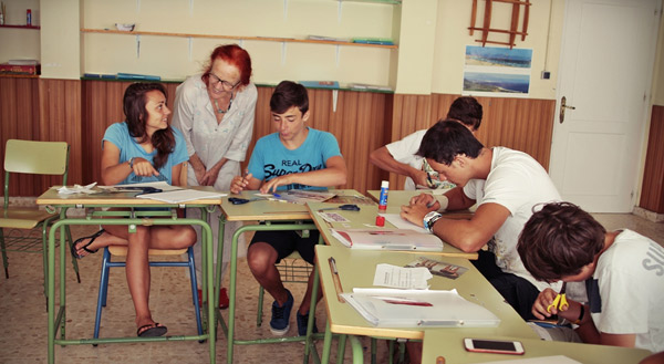 Summer-school-Spanish-English, Tarifa, Spain