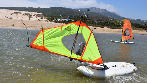 Summer-Windsurf-Camp-Tarifa-Spain, windsurf for teenagers
