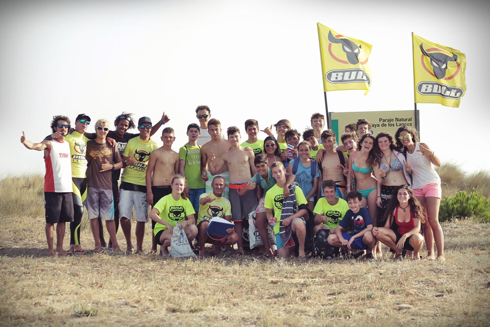 The-Bull-Summer-Games-Kitesurfcamp-Tarifa-Spain, teenagers