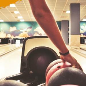 adventure camp, bowling