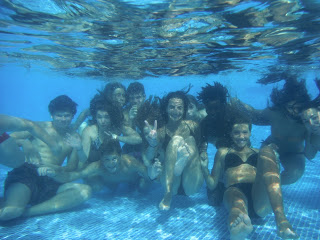 summer camps for teens tarifa, underwater picture