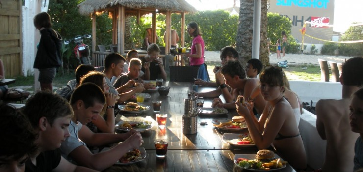 summer camps for teens tarifa, hamburger night pacha mama