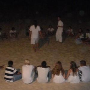 summer camps for teens tarifa, summer evening at the beach