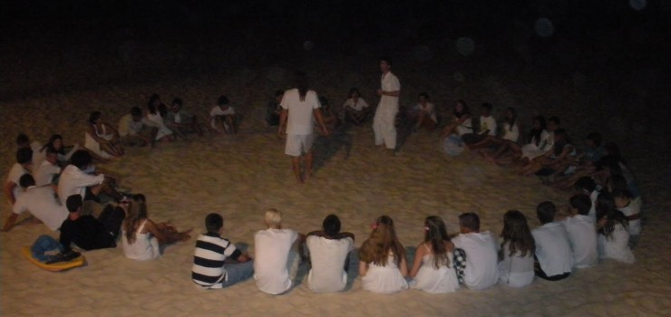 summer camps for teens tarifa, summer evening at the beach