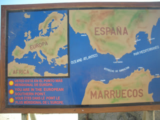 summer camps for teens tarifa, map spain morocco