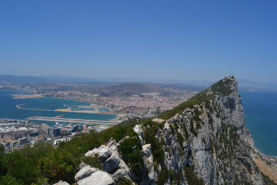 summer camps for teens tarifa, views from gibraltar rock