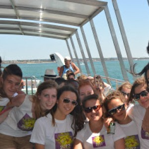 summer camps for teens tarifa, boat trip