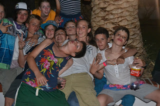 summer camps for teens tarifa, upside down party