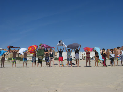 summer camps for teens tarifa, beach atlantic side tarifa