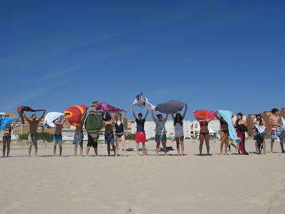 summer camps for teens tarifa, beach atlantic side tarifa