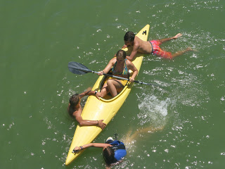 summer camps for teens tarifa, kayaking sotogrande