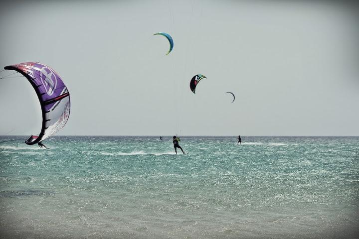 Lenguaventura Camps - Kitesurfing time!