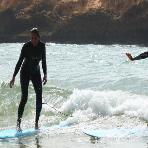 surf camp in marruecos, surf course oualidia beach
