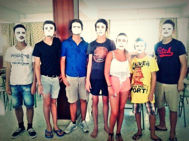 summer camp, workshop masks