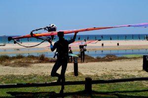 Windsurf Camp for teens, Valdevaqueros Beach