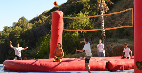 Adventure-summer-camps, Bossaball