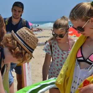 summer camps for teens, solving problem with sunshade