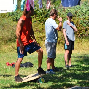 Adventure camp for teens, balance