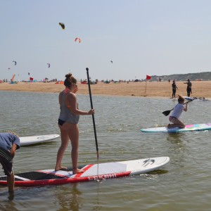 summer camps for teens, SUP Valdevaqueros beach