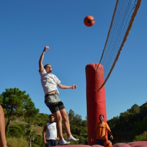 summer camps for teens, Bossaball