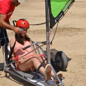 summer camps for teens, landsailing Los Lances