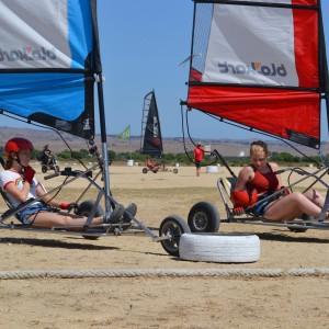 summer camps for teens, landsailing