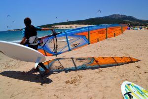 Windsurf camp for teens, preparation