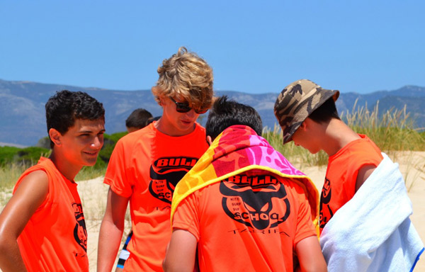 Kitesurf-Camp-teenagers-Tarifa, Playa Los Lances