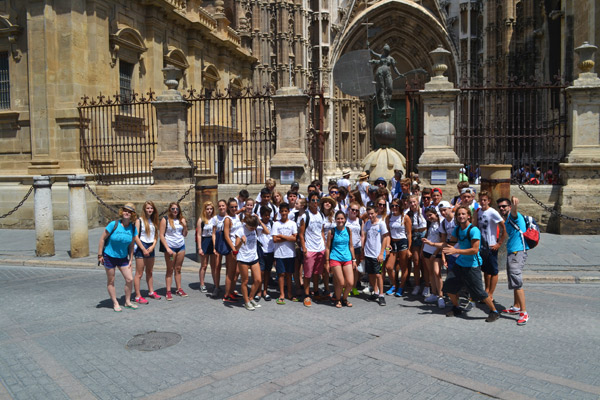 Lenguaventura-summer-camps-in-Tarifa-Spain, fieldtrip to Sevilla