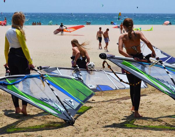 Lenguaventura-teenage-windsurf-camp-Tarifa, Valdevaqueros Tarifa