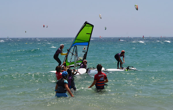 Lenguaventura-teenage-windsurf-camp, Valdevaqueros Tarifa