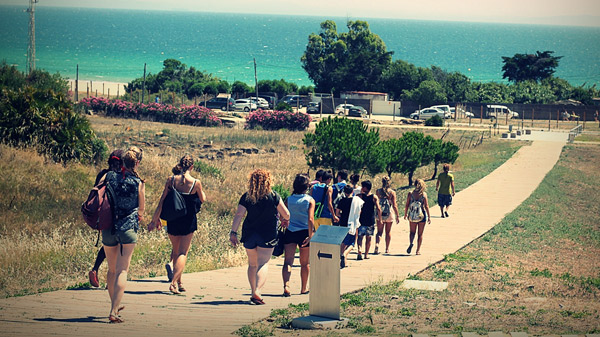 Summer-activities-for-teens-in-Tarifa-Spain, visiting Bolonia