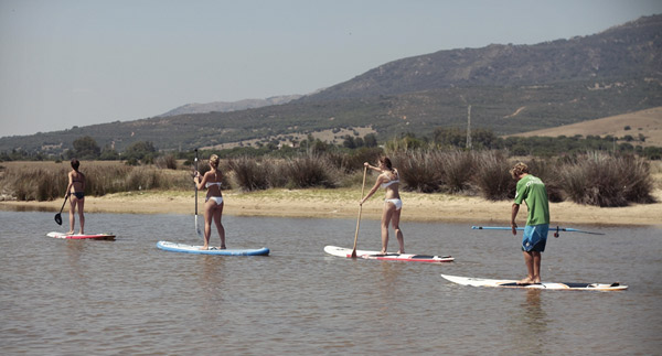 Summer-camp-fun-activities-for-teenagers--Spain, SUP Valdevaqueros beach