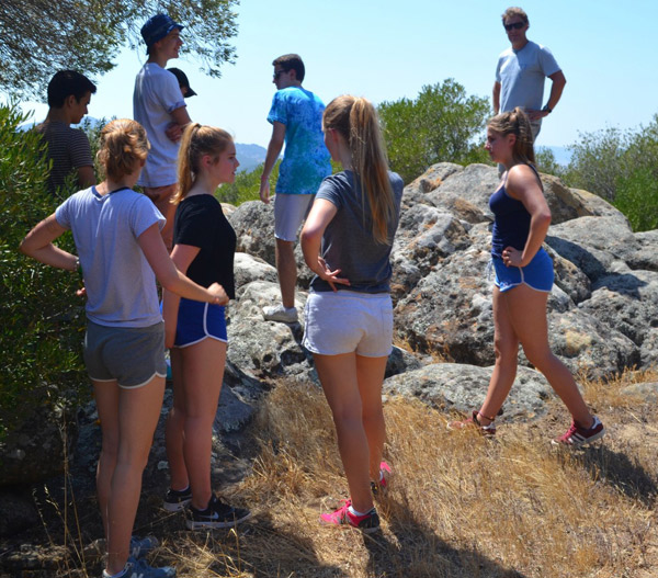 Summer-camps-for-young-people, activity in the nature