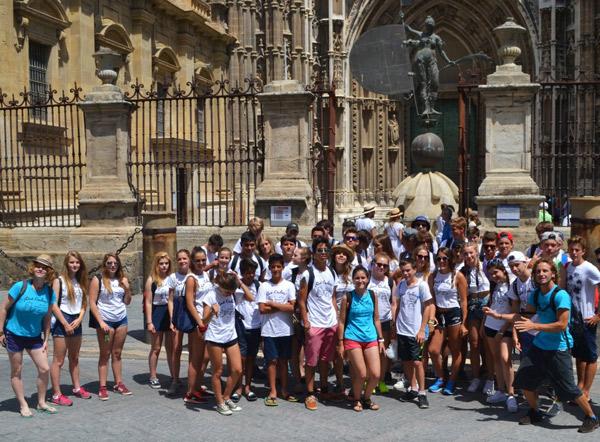 lenguaventura-summer-camps-Tarifa, fieldtrip Sevilla