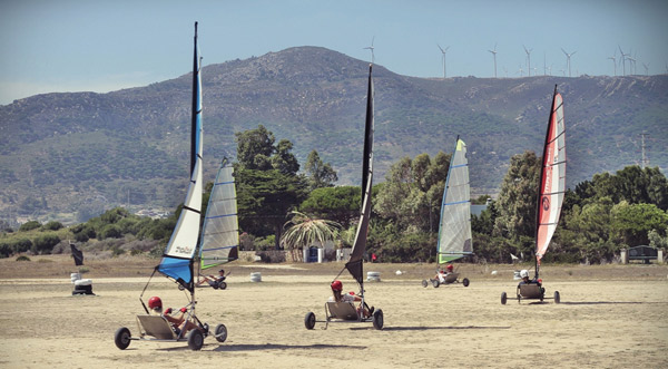 teenage-summer-camp-Tarifa-Spain, landsailing