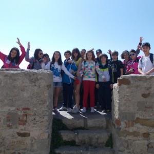 camps for school groups, from the top of Castillo guzman el bueno