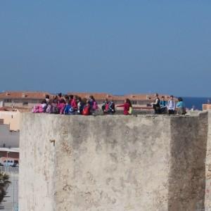 camps for school groups, visit castillo Guzman el Bueno