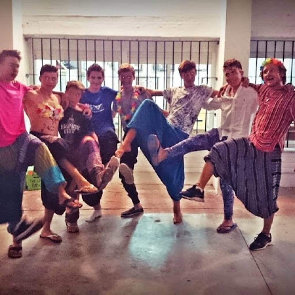summer-teen-camps-Tarifa, boys fashion show