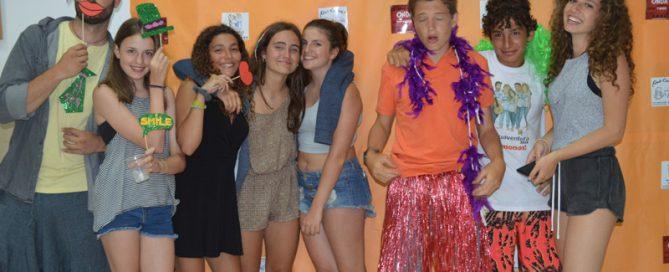 teen summer camp, photocall Lenguaventura