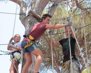 unforgettable summer camp memories, adventure park