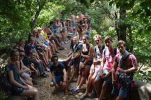 colonies de vacances, excursion à Ubrique