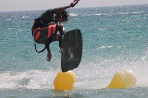 Campamentos juveniles, kiteboarding Tarifa