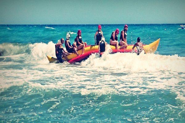 Campamento de verano adolescentes, nada es imposible, actividades en el agua
